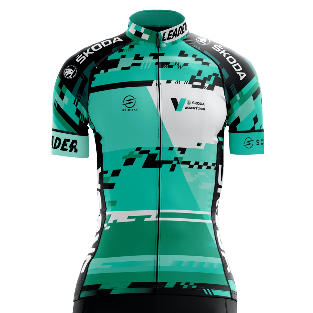 ŠKODA V-Women's Tour Official Replica Cycling Jersey